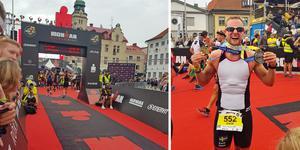 David Ulmér i ultraloppet Ironman. Foto: Privat