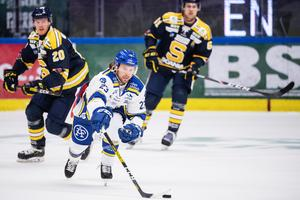 Leksandscentern Andreè Hult klev av skadad mot Södertälje: