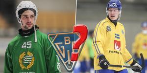 Christoffer Fagerström uppges vara nära Bollnäs, men kan han få sällskap av Erik Pettersson – antingen nästa säsong eller i framtiden? Bild: Andreas Tagg / Rikard Bäckman