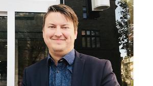 Robert Johansson blir hitelldirektör på Lindesbergs Stadshotell. Pressbild