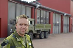 Chefen för Älvdalens skjutfält, Martin Hedin