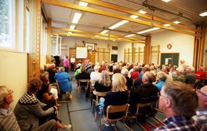 Uppslutningen var stor för drygt två år sedan när Vemdalsborna ville höra om kommunens planer för byns äldreboende, Fjällglimten.