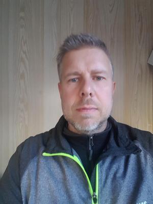 Stefan Friberg är ordförande i Team Walles MK.  Foto: privat