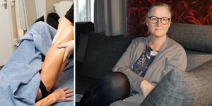 Massage gjorde att Mia Åtting fick tillbaka känseln i underlivet. (Massagebilden har ingen koppling till artikelns innehåll.)