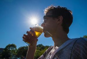 I Sverige är gårdsförsäljning av öl och vin inte tillåtet. Foto: Vidar Ruud/TT