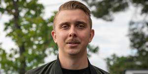 Patrik Tapper, 31, blev varumärkesambassadör för spritdrycken Fernet Branca för tre år sedan.  Bild: Calle Magnusson