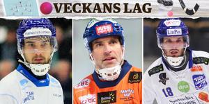 Kasperi Hirvonen, Andreas Westh och Joakim Andersson. Bild: Jonna Igeland/Peter Axman