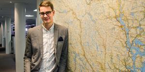Oskar Nord, chefredaktör och utgivare för Tidningen Ångermanland.