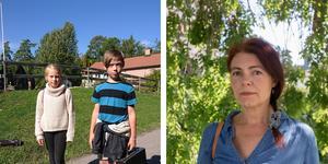Gerda Ronne och Valdemar Odö Hägerstrand, som går på Köpmanholms skola, fick sina musiklektioner inställda på fredagen. Föräldern Louise Odö är upprörd: - Vi är bestörta.