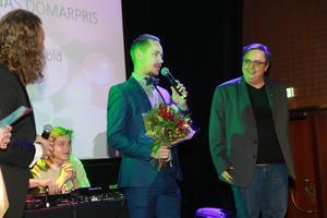 Joel Störvold fick Panas domarpris.