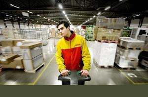 Kristofer Axén tänker inte sluta jobba som truckförare på grund av vinsten.