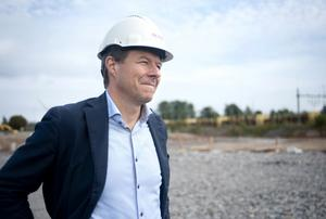Vd Jan Kristensson räknar med byggstart för etapp två före årsskiftet.