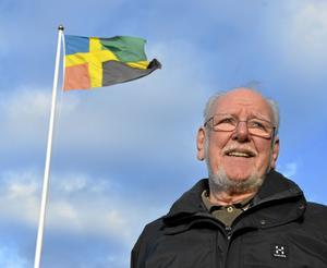 Kommer Bergslagsflaggan att slå igenom. 31 mars har utlysts som flaggdag för Bergslagsflaggan.
