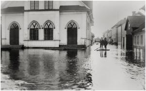 Korsningen Garvaregatan-Nybrogatan vid Johanneskyrkan. Foto: Albin Hedling.