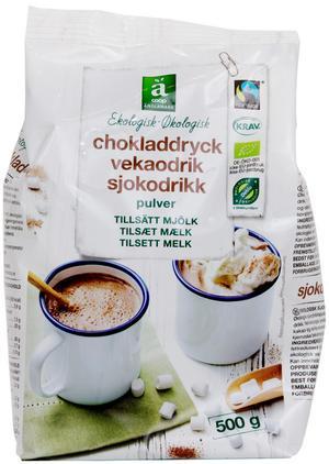 Coop Änglamark Ekologisk chokladdryck.