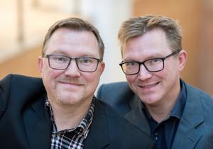 Erik och Gunnar Haneskog står bakom den årliga zombieinvasionen Run for your lives.