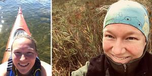 Paddling – en naturlig del av Linn Austlis liv, nu vill hon att fler ska upptäcka hur fantastiskt det är. Foto: Privat