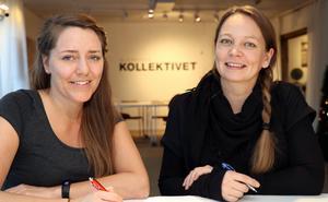 Lotten Rapp och Kerttu Heiskanen blir projektledare för tre nya paraplyprojekt inom Leader Mittland Plus och kommer ha sin bas vid Glesbygdskollektivet i Fränsta.