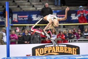 Erika Kinsey under Bahausgalan i Stockholm nyligen. Foto: TT
