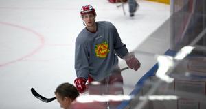 Philip Nyberg fick debutera i Hockeyallsvenskan mot Tingsryd i onsdags.