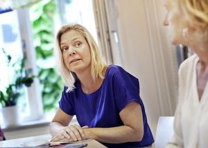Finansminister Magdalena Andersson (S) har uppenbart sneglat på Boel Godner (S) och Södertälje när regeringen nu prioriterar välfärdsbrotten. Foto: Hampus Andersson