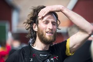 David Holmberg, tävlingsledare som också tävlade. Han blev fyra i herrarnas seniorklass över 21 kilometer.