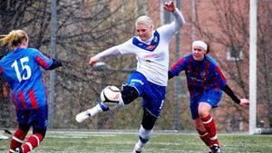 En av klubbarna som fick ta del av pengarna som satsas på dam - och flickidrotten är IFK Timrå.  Bild: Camilla Bengtsson