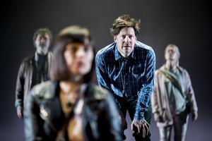Roger Storm, Frida Beckman, Hans Christian Thulin och Malin Berg i