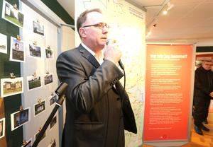 Marcus Drotz arbetar vid Örebro läns museum, en av aktörerna som gjort utställningen möjlig.