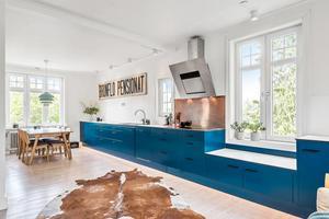 Huset i Brunflo är nyrenoverat. Foto: Svensk Fastighetsförmedling