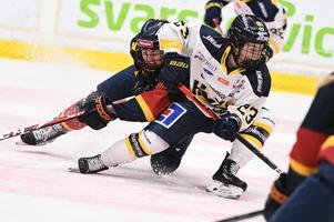 Sanni Hakala under en av årets SM-semifinaler mot Djurgården.
