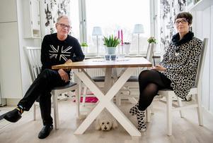 Christer och Gunilla Jonassons lägenhet är ljus, luftig och praktisk.