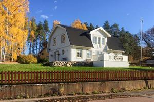 Villa i Stenslund. Foto: Privat