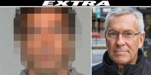 Pensionerade kriminalinspektören Peter Ståhl, till höger, utredde tidigare 54-åringen efter ÖB-rånet i Södertälje.