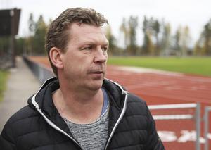 Micke Morin, ungdomsledare och före detta ordförande i Bollnäs GIF Fotboll.