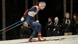 Emma Wikén fanns inte med i Ruka, men är tillbaka till tävlingarna i Lillehammer. Bild: Anders Wiklund.