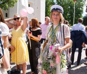 Tova Otterskog blev firad av nära och kära.
