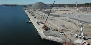 Foto: Stockholms hamnar    Norviks hamn.