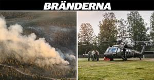 800 hektar bränns i riskfyllt moment – Sveriges största skyddsavbränning inleds nu i Trängslet