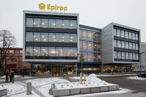 Epiroc utökar anläggningen på Klerkgatan i Örebro med en ny värmebehandlingsverkstad som ska stå klar i slutet av 2020. ARKIVBILD