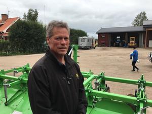 Mikael Säfström ser en ljus framtid för potatisodlarna  i länet.