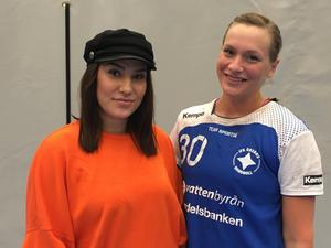 Polare – och nyckelspelare. Frida Hedlöf och Maja Eriksson är två viktiga pjäser i IFK Örebro. Foto: David Flatbacke-Karlsson