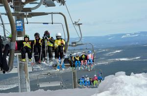 Sälen är ett lockande resmål för de som vill åka skidor under vintersemestern.
