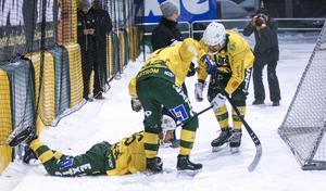 ...och hamnade sedan bakom målet efter att på egen hand gjort 5–1 till Ljusdal.