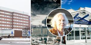 Totalt föreslås att 35 fastställda vårdplatser ska plockas bort på länets tre sjukhus.