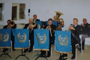 Ensemble ur Stockholmspolisens musikkår. Foto: Max Möllerfält