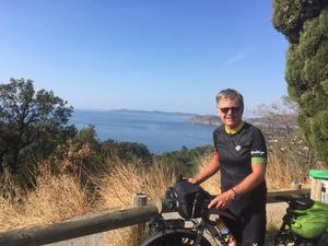 550 mil på fyra månader. En frihetskänsla som måste upplevas. För Borlängebon Tommy Munther blev cyklandet en upplevelse, ett minne för livet.Foto: Privat