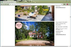 På Bukowski Real Estates hemsida ligger villan på Mellansundet 28 fortfarande ute som ett exempel på en lyckad försäljning, men just denna försäljning skedde för några år sedan. Nu är både Mellansundet 28 och 29 sålda igen.