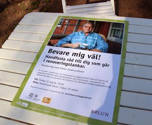 På tisdag kväll blir det föreläsning om byggnadsvård i Kulturhuset tio14.