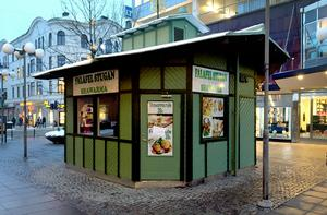 Falafelstugan på Storgatan har varit stängd en längre tid.